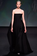 Christian Dior Fall 2013 Couture - Long black dress