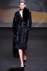 Christian Dior Fall 2013 Couture - Navy blue coat