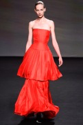 Christian Dior Fall 2013 Couture - Red dress