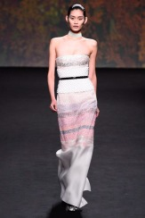 Christian Dior Fall 2013 Couture - White and pink dress