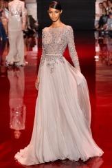 Elie Saab Fall 2013 Couture - Beige dress II