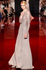 Elie Saab Fall 2013 Couture - Beige dress III
