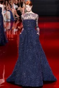 Elie Saab Fall 2013 Couture - Blue dress I