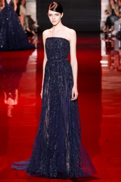Elie Saab Fall 2013 Couture - Blue dress II