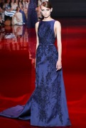 Elie Saab Fall 2013 Couture - Blue dress VI