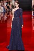 Elie Saab Fall 2013 Couture - Blue prurple dress