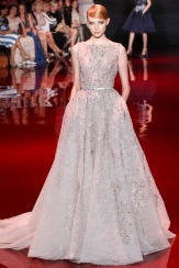 Elie Saab Fall 2013 Couture - Offwhite dress