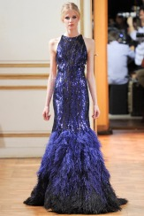 Zuhair Murad Fall 2013 Couture - Blue dress