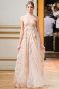 Zuhair Murad Fall 2013 Couture - Off-white dress