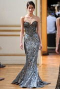 Zuhair Murad Fall 2013 Couture - Silver dress