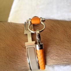 Hermès with omega bracelets