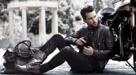 Belstaff Men leather motor jacket
