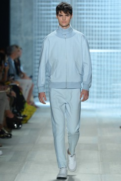 Lacoste Spring 2014 - Men baby blue jaclet and pants