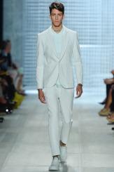 Lacoste Spring 2014 - Men mint green suit