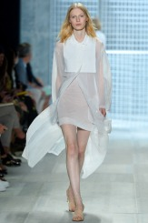 Lacoste Spring 2014 - Women see through jacket