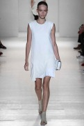 Victoria Beckham Spring 2014- White dress