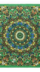 alexander mcqueen- Damien hirst green scarf 4