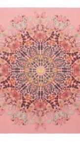 alexander mcqueen- Damien hirst pink scarf 3