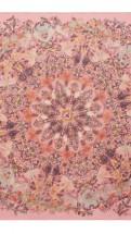 alexander mcqueen- Damien hirst pink scarf