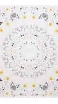 alexander mcqueen- Damien hirst white scarf