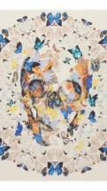 alexander mcqueen- Damien hirst white skull