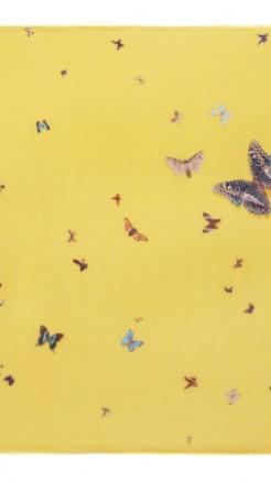 alexander mcqueen- Damien hirst yellow butterfly