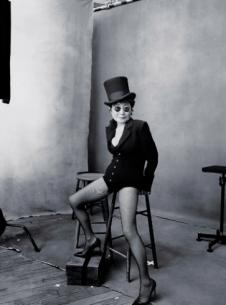 Yoko Ono, October
